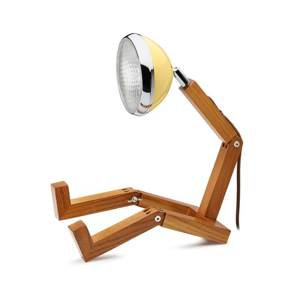 LED-Lampe Mr. Wattson - Light Yellow